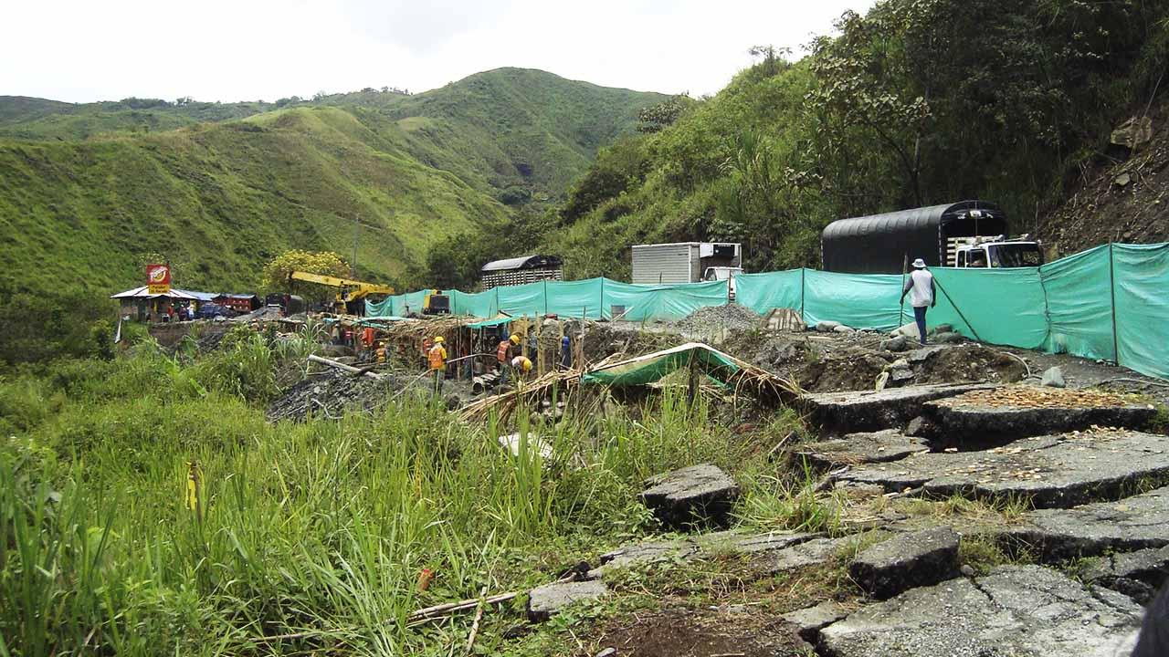 Carretera Mojarras-Popayán. Sitios críticos